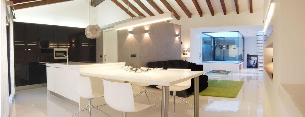 Proyectos de interiorismo vivienda loft