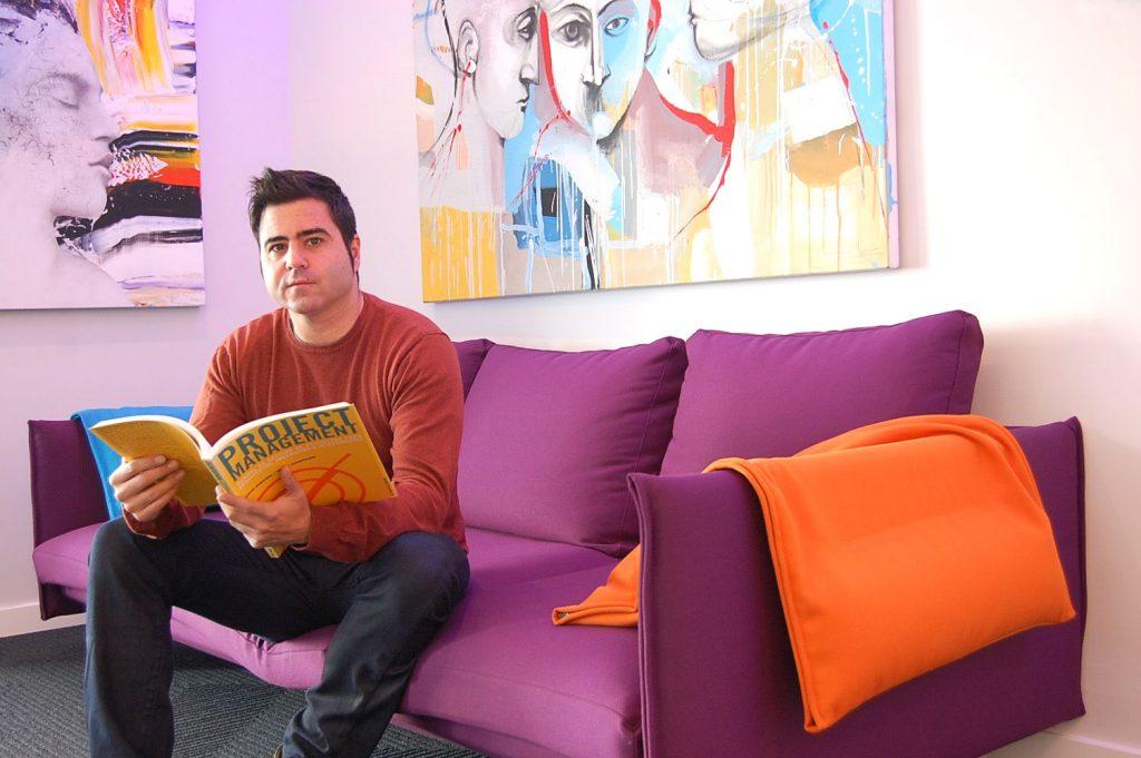 David Abel - CEO Càdec Disseny Proyectos de interiorismo